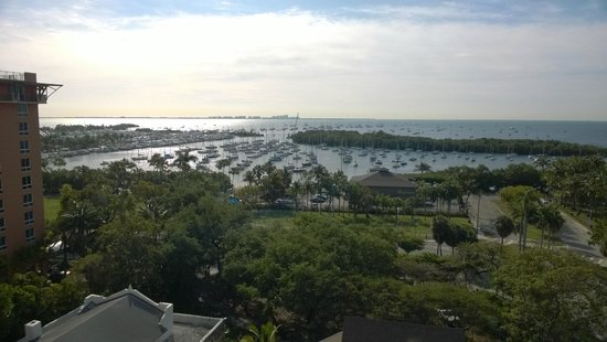 Sonesta Coconut Grove Miami : That's what you get when staying a room facing the bay