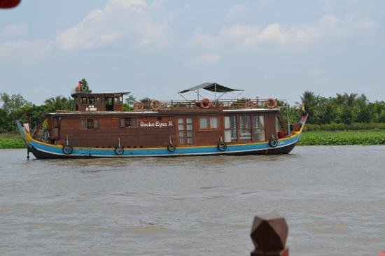 Mekong Eyes Cruise - Mekong One Day Tour : our private boat