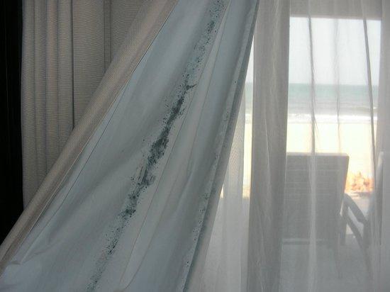 Ana Mandara Hue: Horrible mouldy Curtains