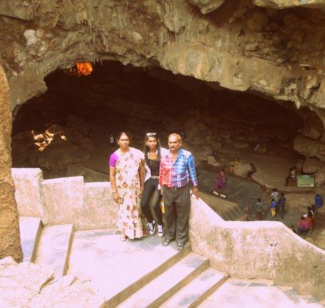 Borra Caves : Inside Gate