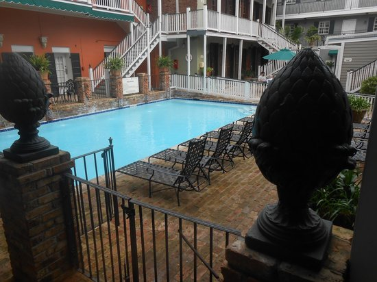 New Orleans Courtyard Hotel: Interno