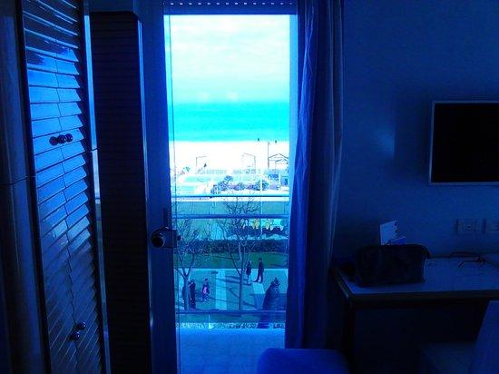 Atlantic Hotel Riccione : veduta frontale
