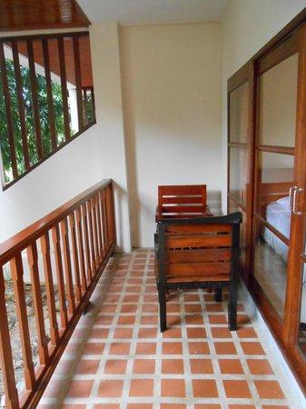 Alina Grande Hotel & Resort: балкон