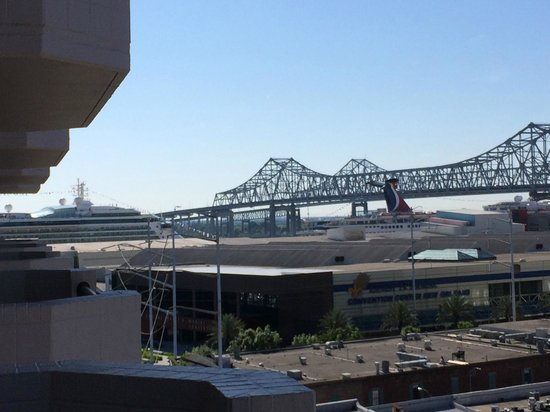 Embassy Suites by Hilton New Orleans - Convention Center : Balcony View