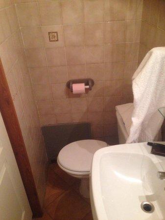 Hotel du Palais : Salle de bain
