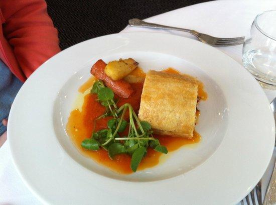 Rastella Restaurant: Vegetable wellington.