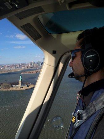 Helicopter New York City : Alex de heliNY