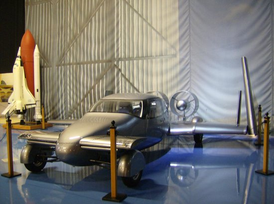 Air Zoo: The car/plane combination - a must see vehicle.