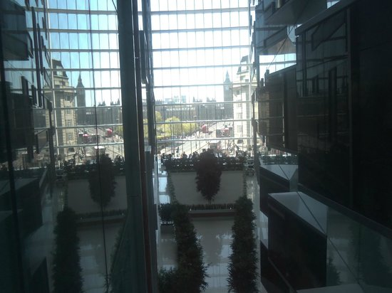Park Plaza Westminster Bridge London : View from the 4th floor