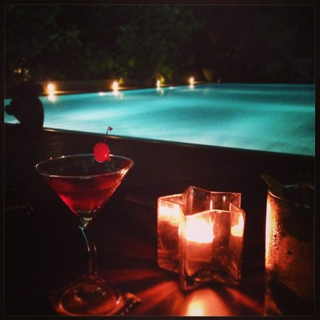 Aditya: Cocktails by the pool