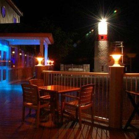 Lake Front Restaurant Outside Deck