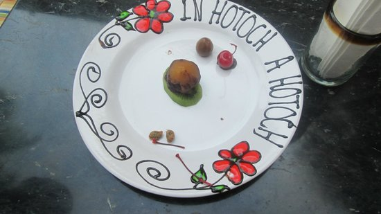 Hotel Hacienda Uxmal Plantation & Museum: Even the writing was edible