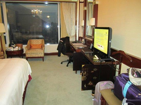 Island Shangri-La Hong Kong: Hoizon Club Peak View Room