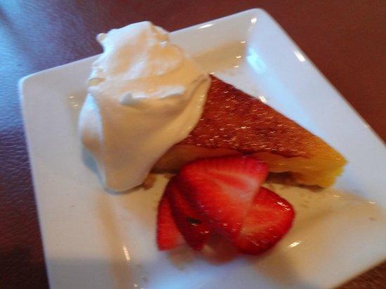 Navajo Grill: Bruleed citrus torte