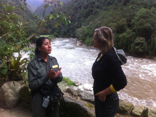 Inkaterra Machu Picchu Pueblo Hotel: Rio Urubamba