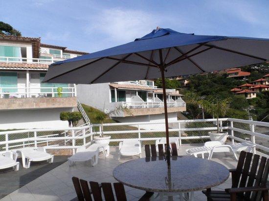 Hotel Pousada Experience Joao Fernandes : Vista a las habitaciones de arriba.-