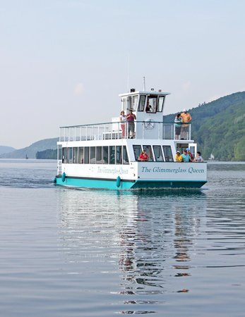 Lake Front Hotel: Glimmerglass Queen Boat Tour