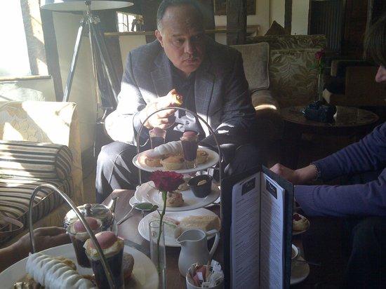 Mercure Stratford-Upon-Avon Shakespeare Hotel : Afternoon Tea