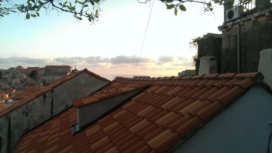 Hostel Angelina Old Town: terrace view