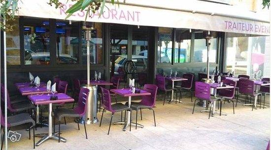 Café Gecko : Notre terrasse