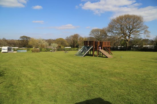Monkton Wyld Caravan and Camping Park: Children loved the play area!