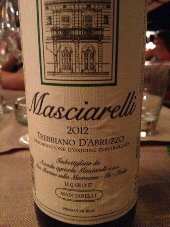 Cuccurucu' : Masciarelli Trebbiano d'Abruzzo 2012
