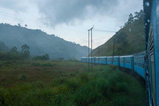 Elite Tours Sri Lanka : Train from Ella