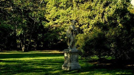 Parc Łazienki : peaceful beautiful and free