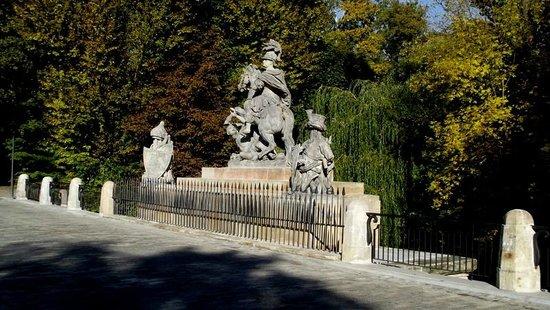 Łazienki-Park (Park der Bäder): Lazenki Park