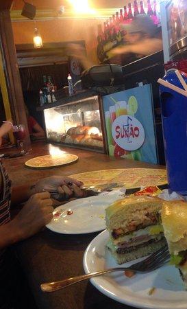 Sukao Bar : Sanduíche Sukao.