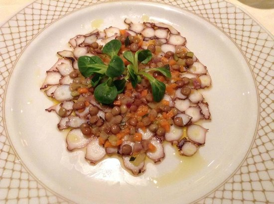 Dom Pedro Lisboa : Octopus Carpaccio