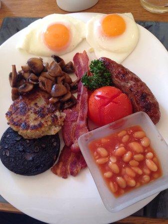 Best Western Henbury Lodge Hotel: Good wholesome breakfast