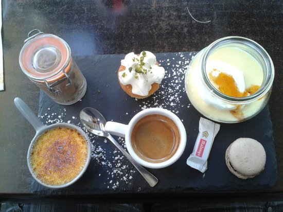 No Stress Cafe : café gourmand