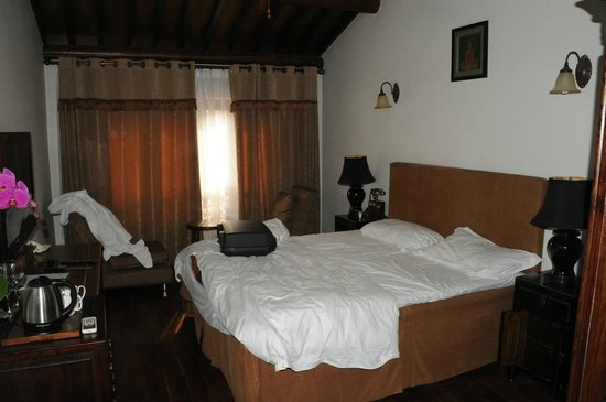 Red Wall Garden Hotel : Chambre double