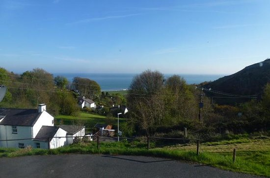 Bryn Goleu B&B: View From The Spiral Room