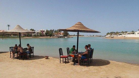 Panorama Bungalows Resort El Gouna : Lunch at Lagoon Restaurant
