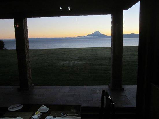Casa Molino: View from Breakfast room.