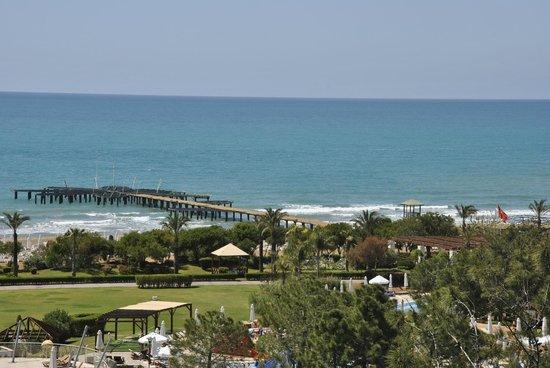 Sueno Hotels Beach Side: Vu de notre chambre