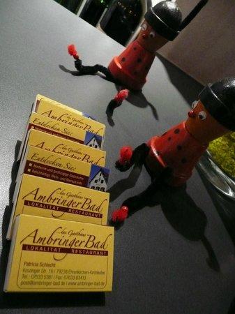 Gasthaus Ambringer Bad : Ambringer Bad zündende Ideen