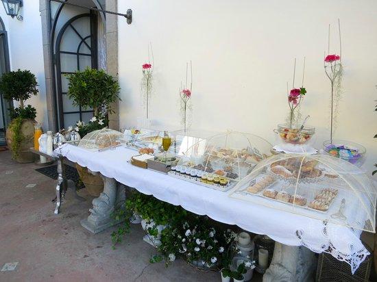 Casa Buonocore: Desayuno bufé