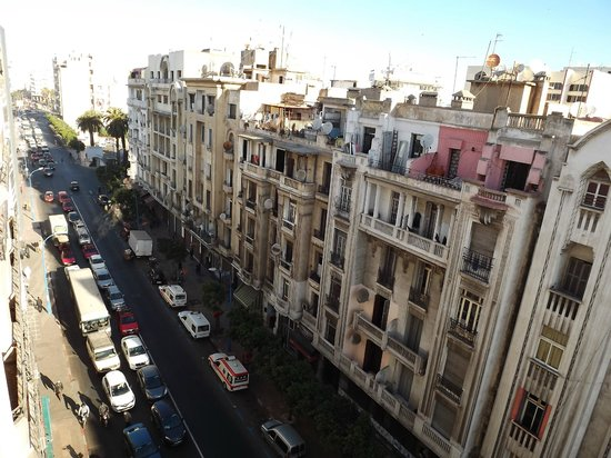 Hotel Prince de Paris : view from the window