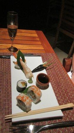 Shandrani Beachcomber Resort & Spa: The dinner