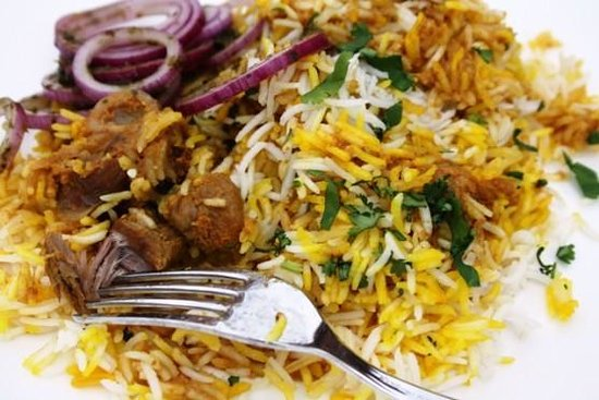 Thorne, UK: Lamb Biryani