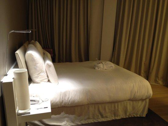 Pullman Brussels Centre Midi Hotel : Chambre supérieure au 6eme.