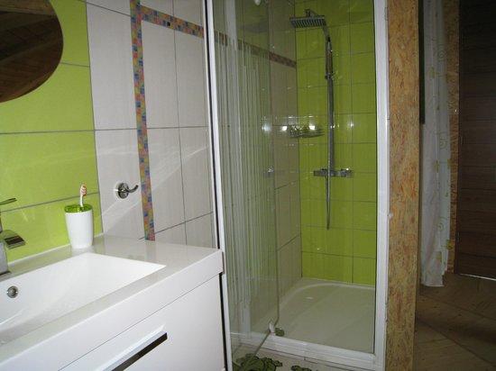 """L'Edénière de Crist'AL : salle de bain"""" nature"""""""