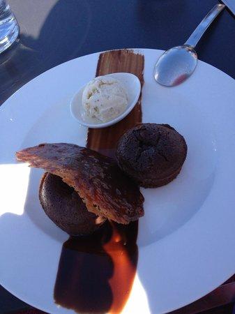Les Triagoz: Dessert 2 : Moelleux au Chocolat et sa Glace Vanille