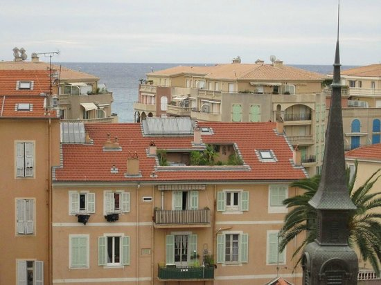 Quality Hotel Mediterranée: panorama