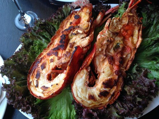 Restaurant Casavaldes: Juan Fernandez lobster