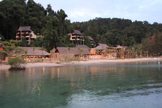 Gaya Island Resort: El hotel