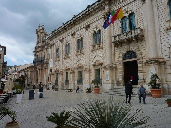 Scicli : Iacono Palace  (Montalbano's Vigata Police Station)